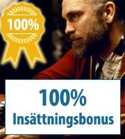 100% casinobonukset