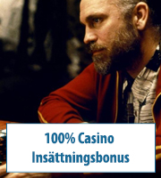 100% Casino Insättningsbonus