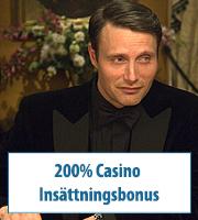 200% Casino Insättningsbonus