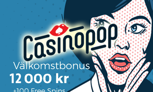 CasinoPop Bonus Sweden