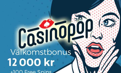 CasinoPop Bonus Sweden