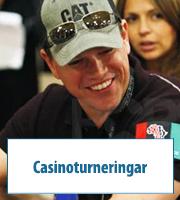 Casinoturneringar