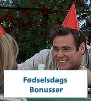 Fødselsdags Bonusser